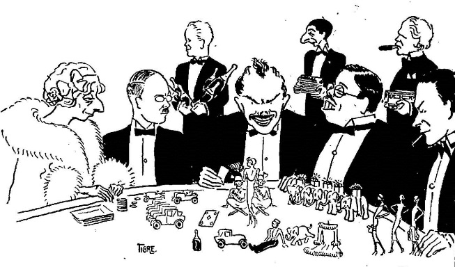 Quick Fact - Depiction of French Gamblers