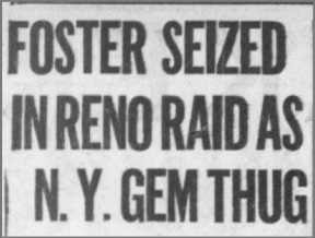 Reno Mobsters Aid Gangster From Chicago, Raising Suspicions