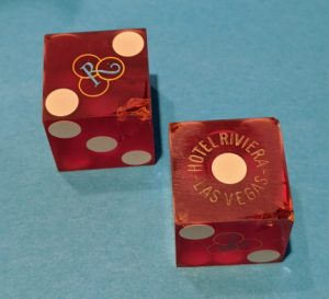 Casino Dice Designed to Thwart Customer Cheating